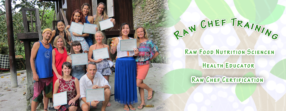 Raw Food Chef Certification